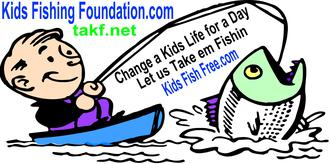 take a kid fishing banner image